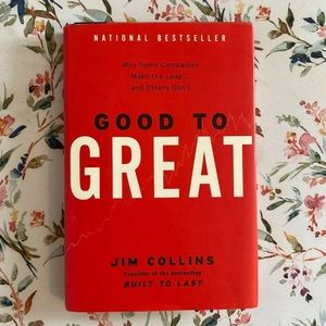 Hardcover Good to Great by Jim Collins